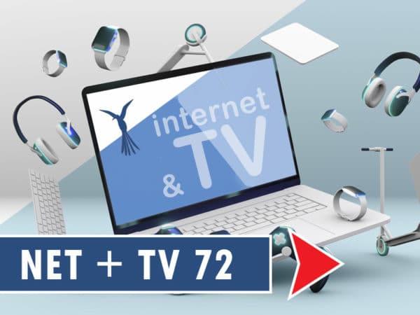 Flynet 1000Mbit + TV 72
