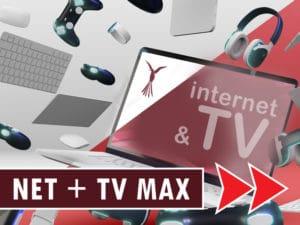 NET 1000Mbit + TV MAX